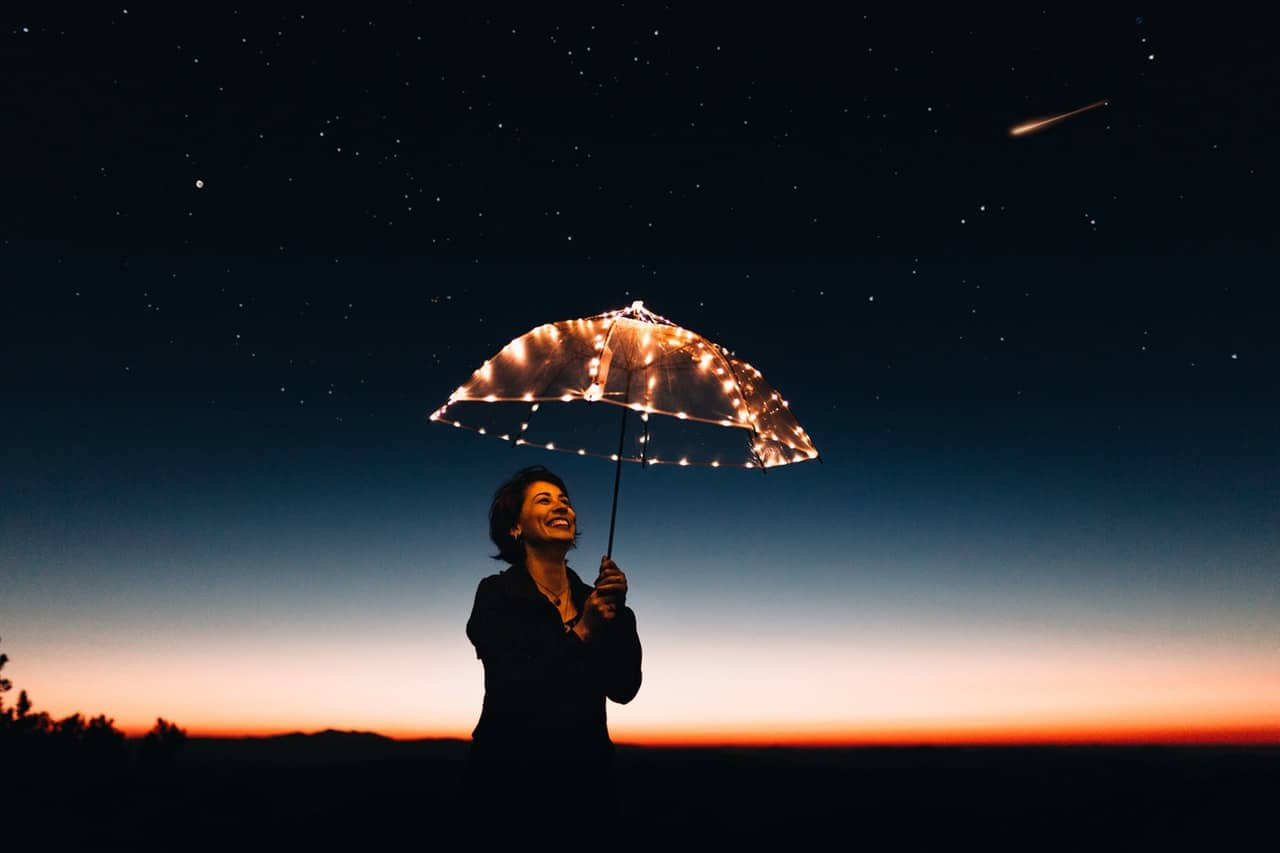 A Shooting Star and The Importance of Knowing What You Want