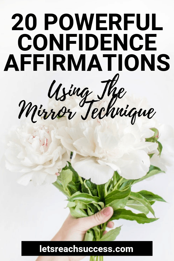 Affirmations are a great way to build a powerful mindset and achieve more success in life. Check out how you can use them for confidence: #confidenceaffirmations #positiveaffirmations #mirrortechnique #lawofattraction #confidence