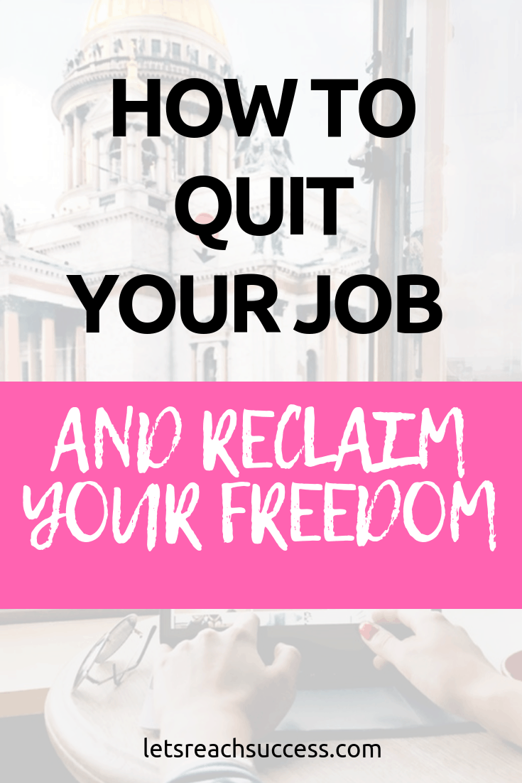 Being an employee is a mindset problem. And in order to take the leap to becoming an entrepreneur, you need to know how to reclaim freedom. #quityourjob #startabusiness #bossbabe