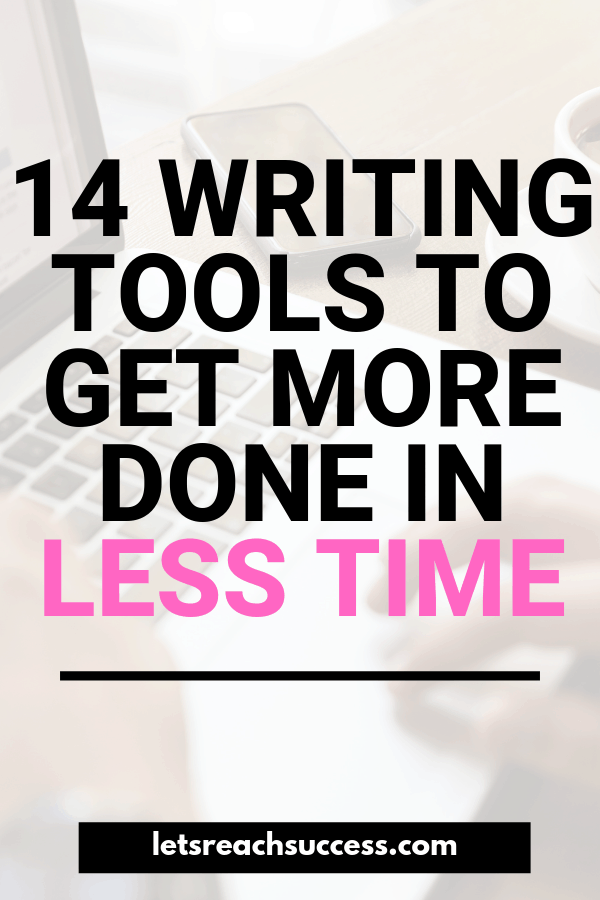 Check out these powerful writing tools (some of which free) that will boost your performance and help you be a better writer. #writingtools #productivitytools #writingtips #toolsforwriters #freewritingtools #productivitytips