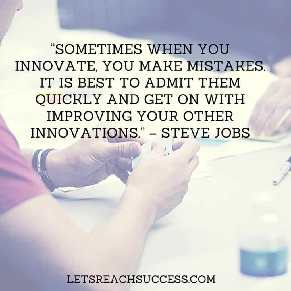 innovation steve jobs motivational quote