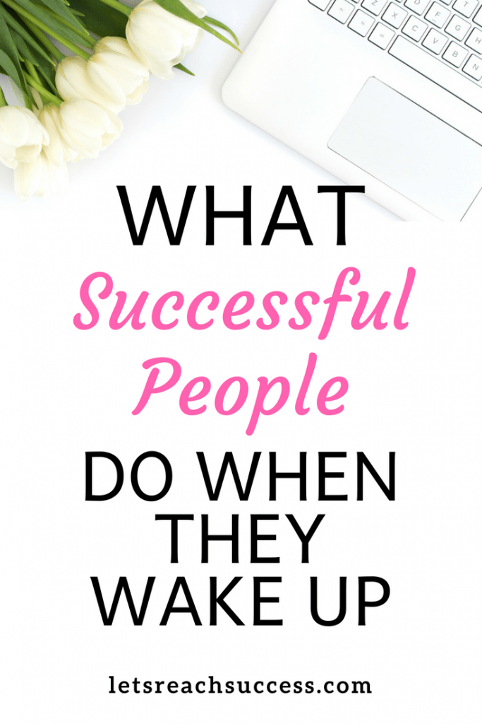 If you're always asked yourself what successful people do right after they wake up and before breakfast, here it is and how to start doing it