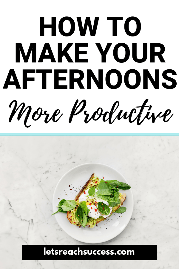 The afternoon slump is something most office workers struggle with. See how to stay productive even in the second part of the day: #productivity #productivitytips #productiveday #timemanagement #morningtips