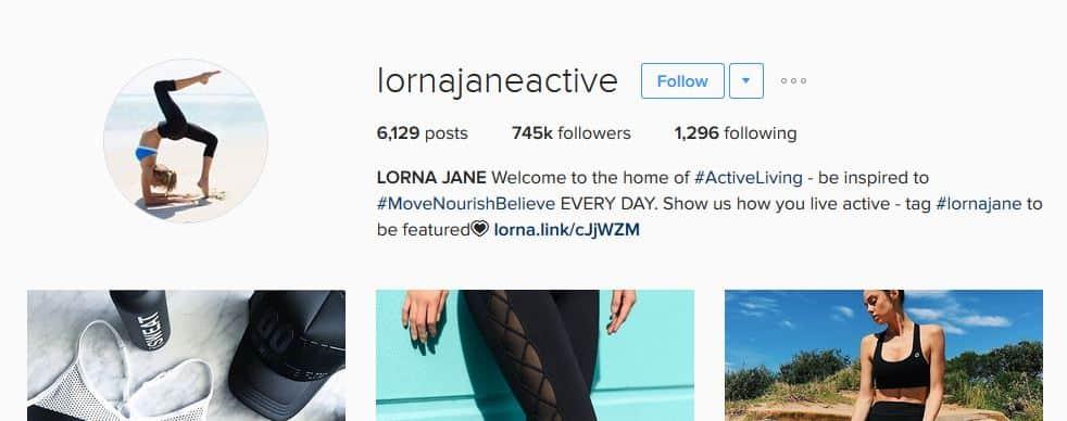 lornajaneactive instagram account strategy - letsreachsuccess.com