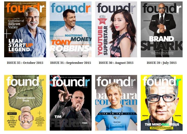 foundr magazine issues