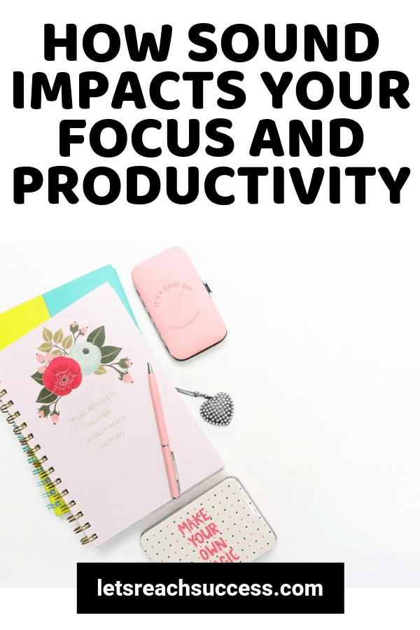 Finding the right balance between silence, white noise and stimulating music can be crucial to your focus and productivity. See how it works: #howtofocus #productivity #productivitytips #whitenoise