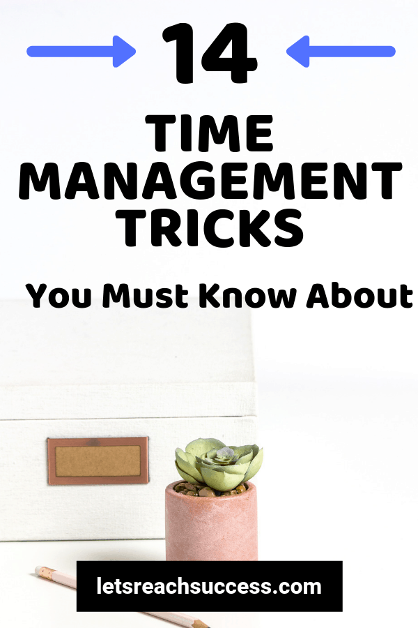 Managing your time effectively is one of the primary cornerstones of success. Check out these time management tricks to get better at it: #timemanagementtips #savetime #timemanagement