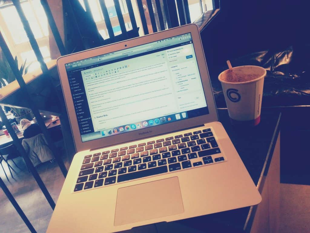 cafe in Amsterdam for freelancers and remote workers