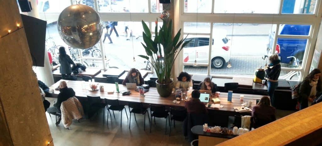 Amsterdam Coffice #1: Coffecompany at Waterlooplein - letsreachsuccess.com