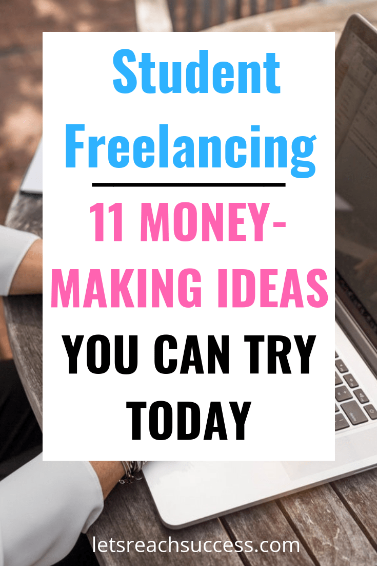 Here are some money-making ideas for students, based upon your skills and interests, that can help you make money while in college: #makemoney #sidejobs #freelancing #moneymakingideas