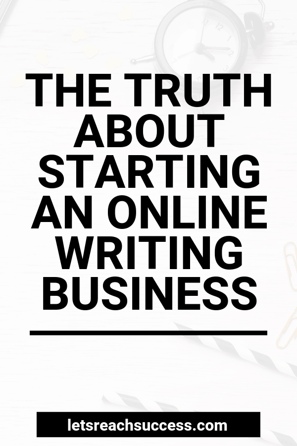 Here's the truth about making money through writing. We'll bust the myths and tell you everything your friend is hiding from you. #makemoneywriting #makemoneyonline #writingbusiness #freelancingforbeginners #freelancing
