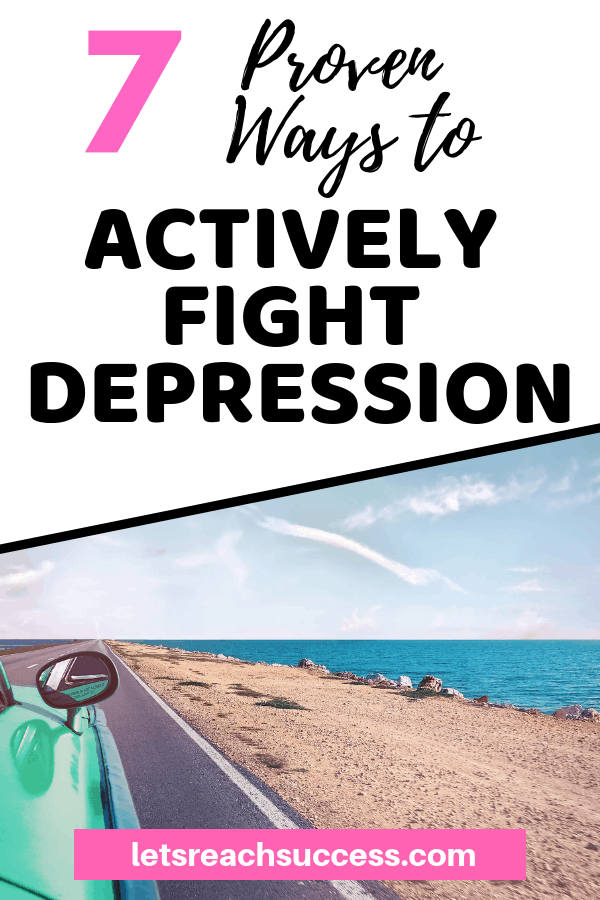 Feeling depressed? Here are some natural and positive ways that are a surefire way to living a happy and meaningful life again. #depression #anxiety #motivation