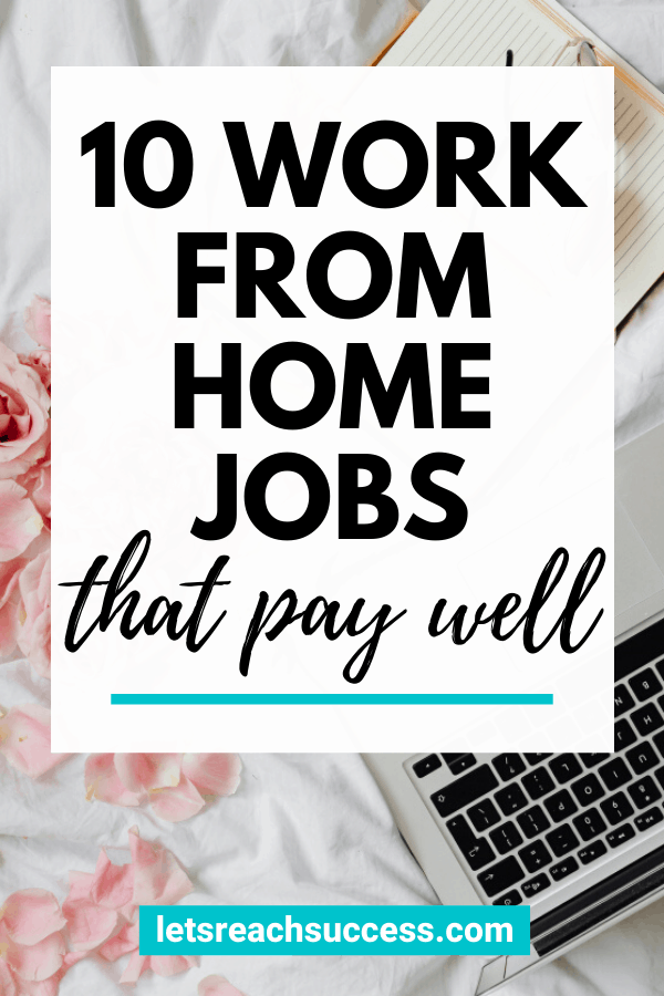Check out 10 legit work from home jobs that can make you real money: #workfromhomejobs #legitworkfromhomejobs #sahmjobs #sahm #onlinejobsfromhome