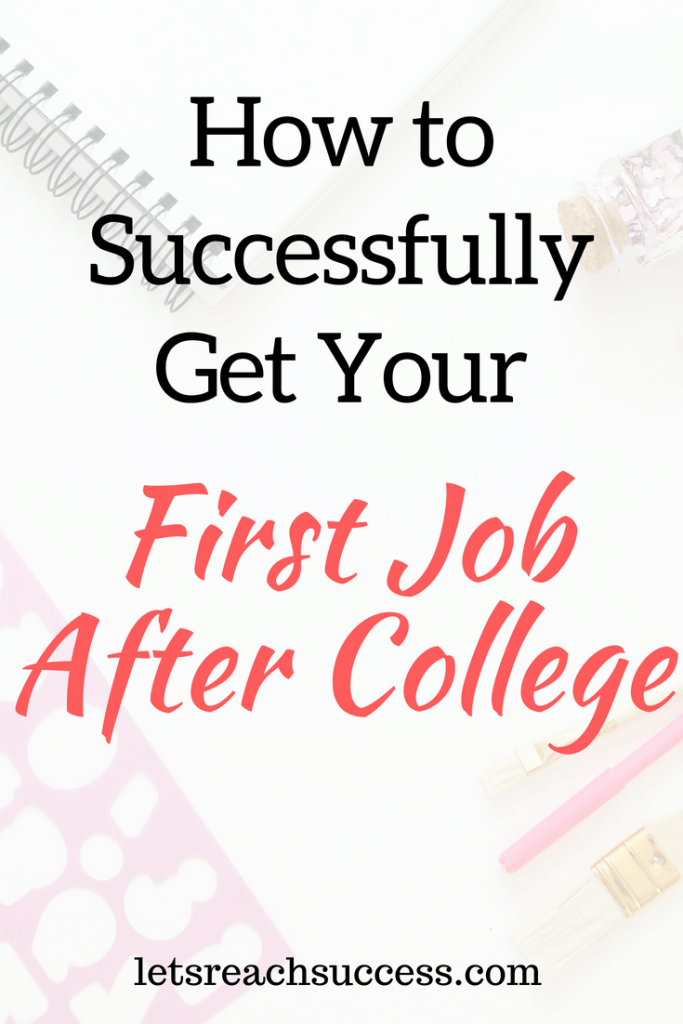 Finding a job doesn't actually need to be that hard. That applies to your first job after college too. You just need to take the right steps. Here are some tips to get you started and help you land a good first after-college position. #college #career #careertips