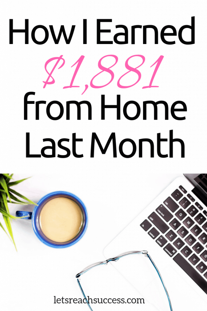 Here's how I made nearly $2,000 blogging and freelancing in a month and what I'm planning for the last 2 months of 2017: #blog #incomreport #blogincome
