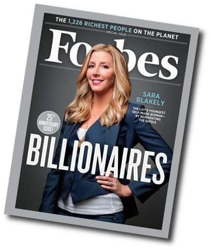 Sara Blakely,$1.15 billion
