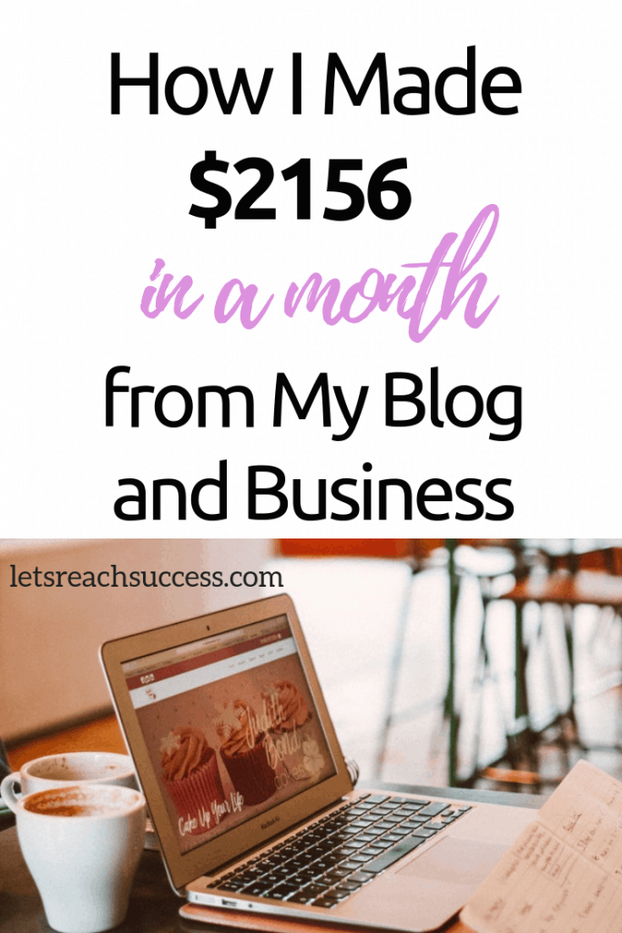 Want to start a blog and monetize it? Check out how I earned over $2,000 blogging and freelancing last month and what else has been going on over at my blog: #incomereport #blogging #earnfromyourblog