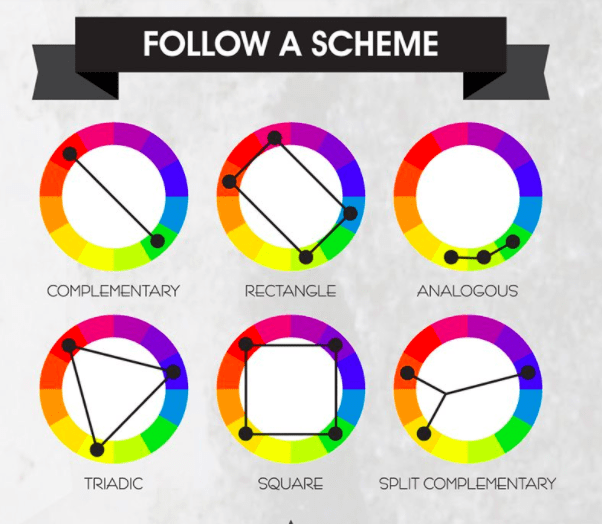 color wheel spectrum