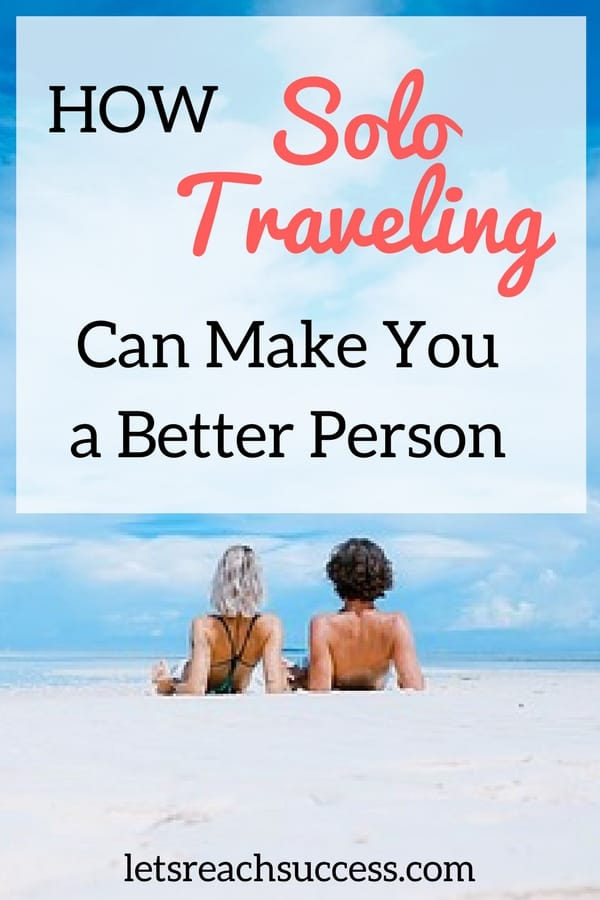 Traveling alone can be a life-changing experience if you're in the right mindset. Here are the exact benefits of solo travel: #traveltips #solotravel #traveler #travelalone