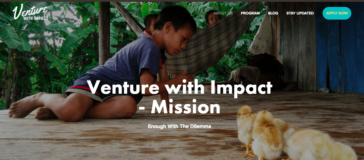 venture with impact