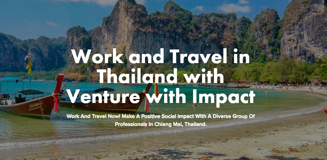 venture with impact expanding to chiang mai