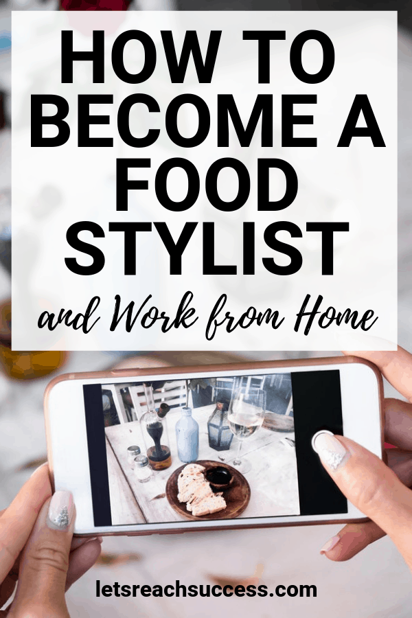 One of the best home businesses that women can actually get involved in is the business of making food to look so good and yummy when the need arises. Here's how to become a food stylist and make money from home doing what you love: #howtomakemoneyfromhome #businessideasforwomen #foodbusinessideas #foodstylist #homebusinessideas #sidehustleideasathome #moneymakingideas
