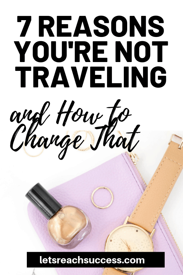 When you realize that the reasons you give for not traveling are just excuses coming from a place of irrational fear, you will find the courage to finally start living out your dreams. Here are some of the most common excuses people give for not traveling: #traveltips #travelinspiration #wanderlust #travel