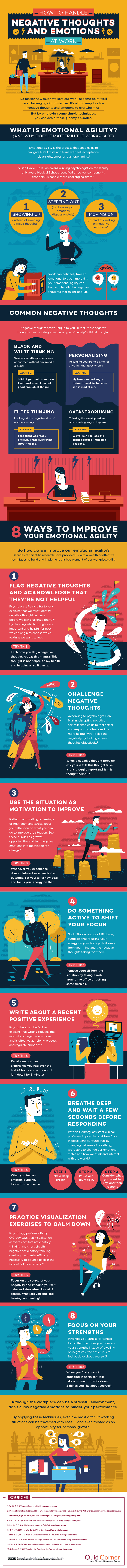 How to Deal with Negative Thoughts in The Workplace