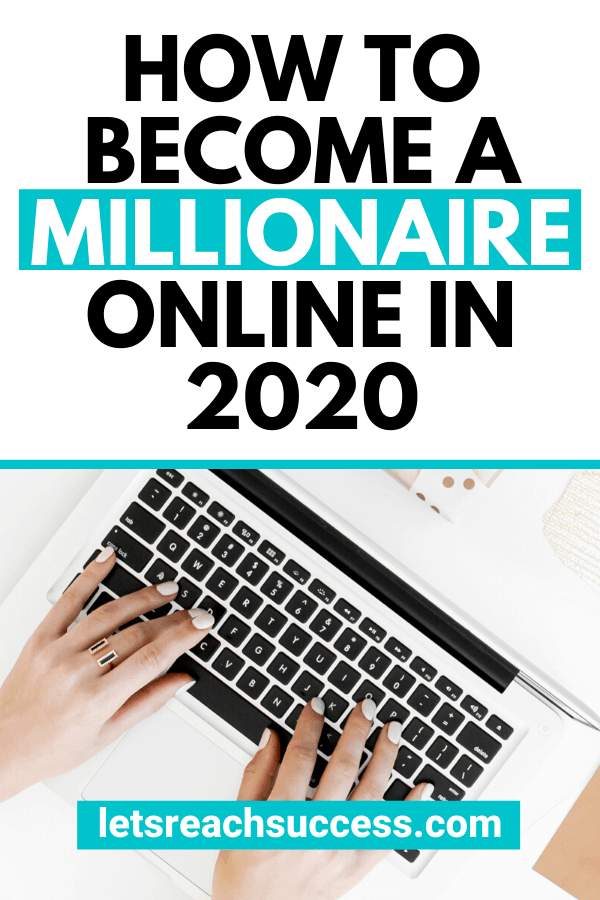 Want to reach financial freedom? Learn how to become a millionaire online this year with the ultimate free guide: #howtobecomeamillionaire #howtobecomeamillionairein5years #selfmademillionaire #makemoney #sidehustleideas #makemoneyonline #moneytips