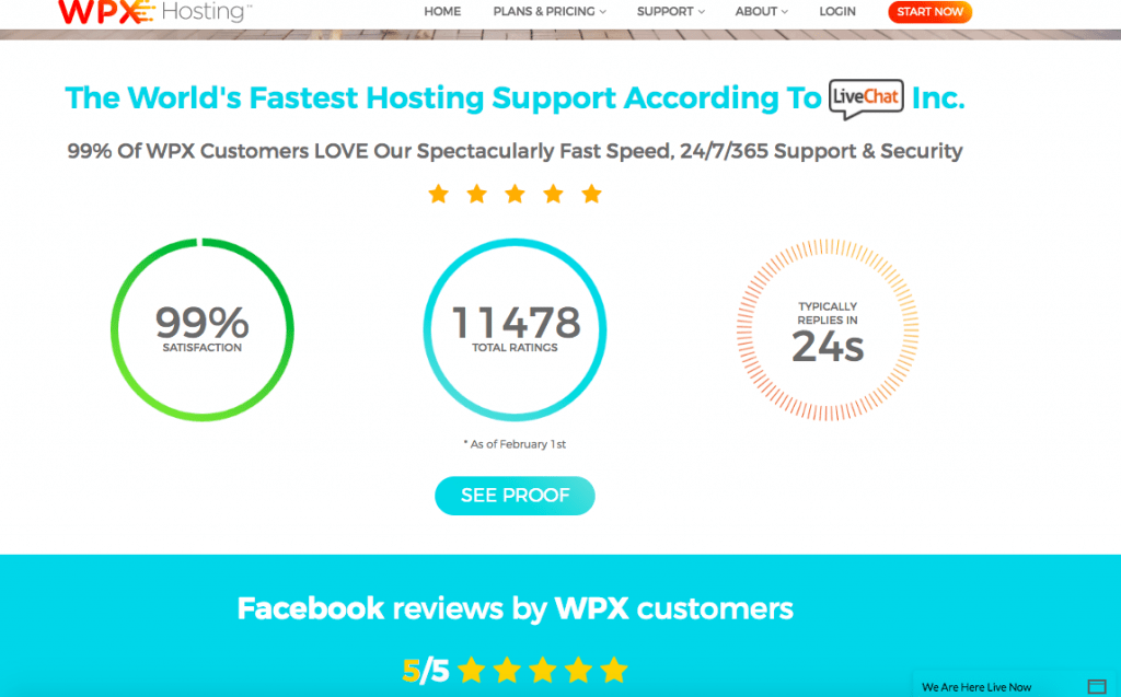 wpx hosting fastest support
