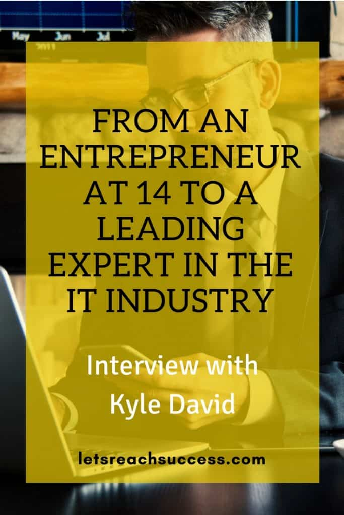 Interview with Kyle David pinterest image