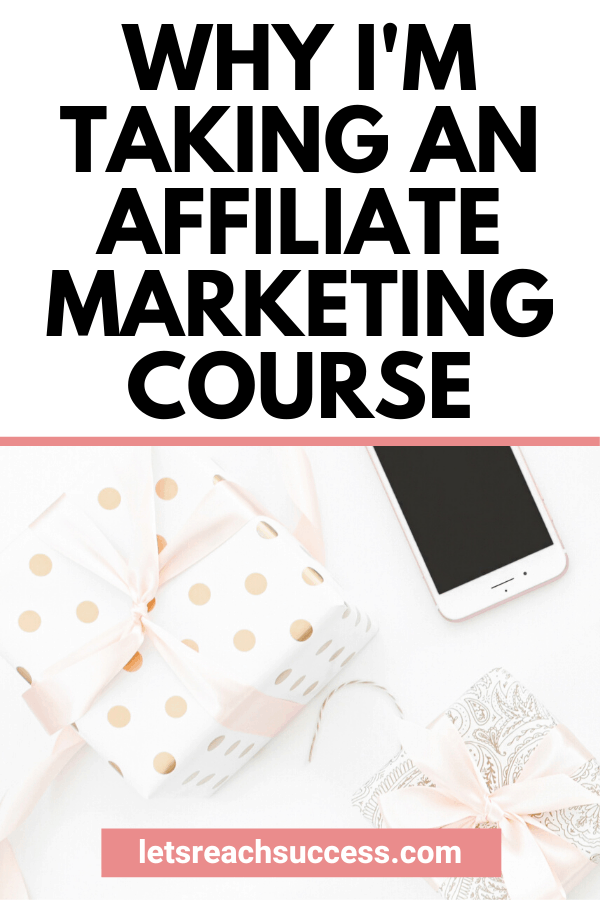I'm a fan of online courses as digital products and I know they can be pretty great to learn a new skill. But it wasn't until I found the right person and her course that I actually made a purchase. #affiliatemarketing #affiliatemarketingtips #affiliatemarketingcourse #affiliatemarketingforbeginners #bloggingtips #bloggingcourses #coursesforbloggers