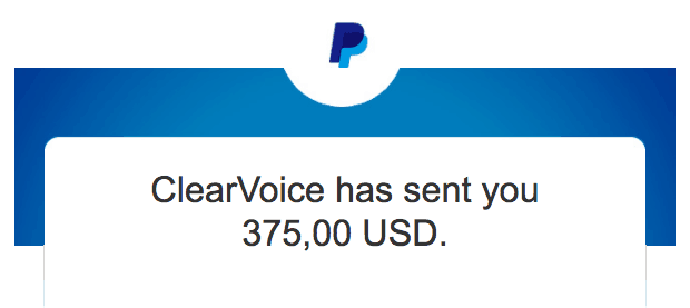 clear voice payment