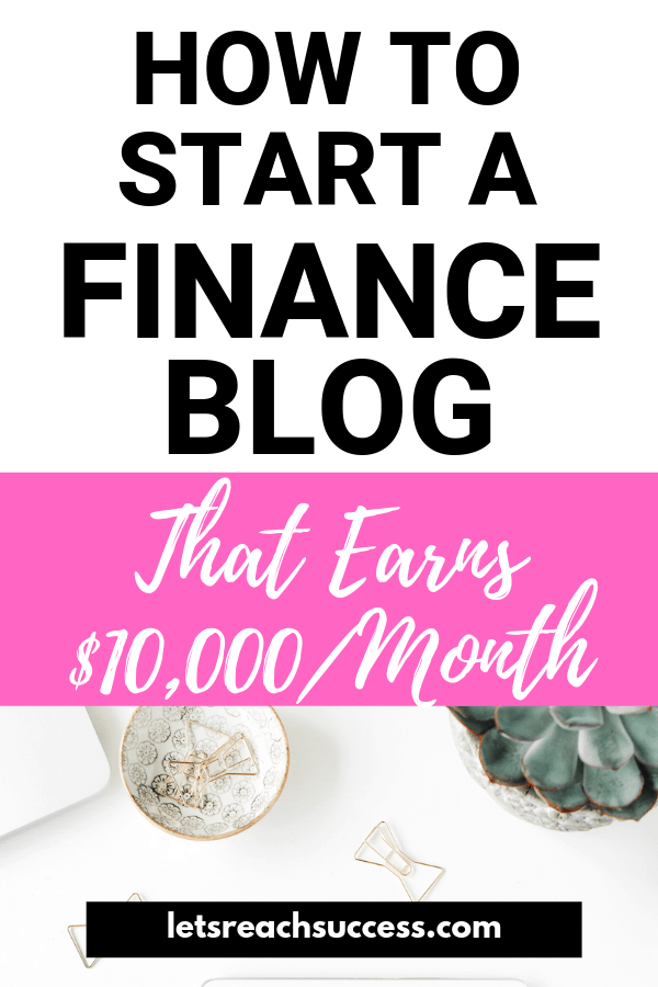 Learn how one guy started making money blogging in the Finance niche and is now making $10,000/month from his online business. #makemoneyblogging #makemoneyonline #financeblog #bloggingtipsforbeginners #makemoneybloggingforbeginners