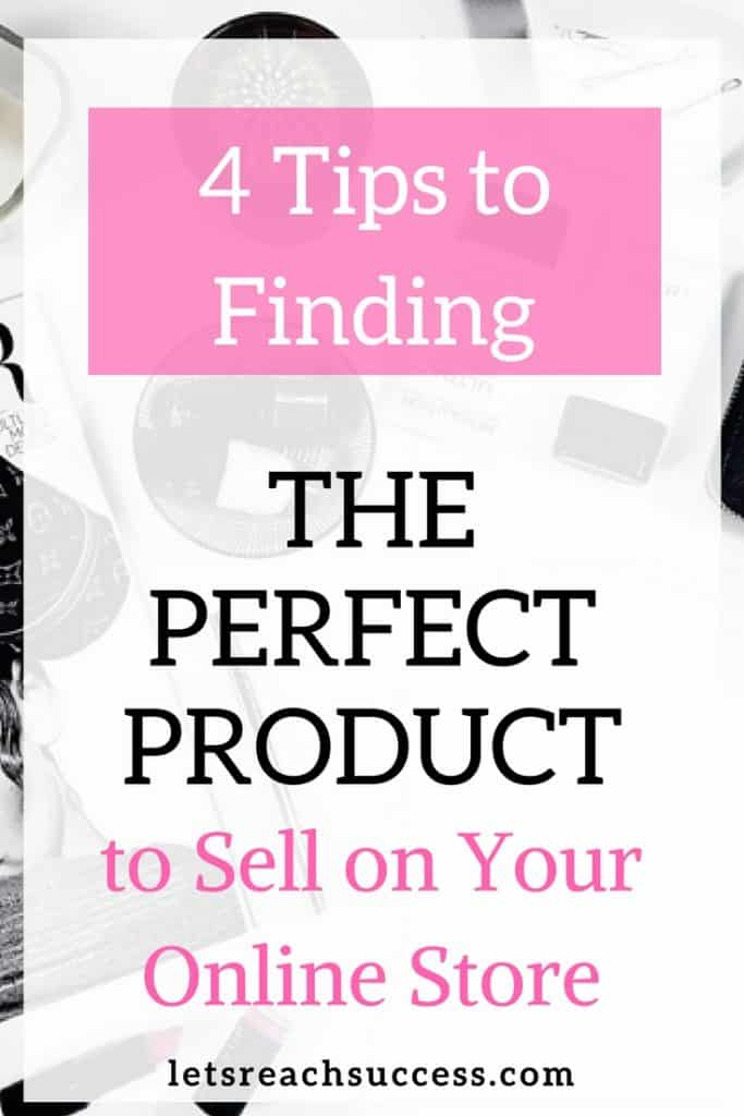 If you're into ecommerce, you might be wondering what product to sell on your online store. Here are 4 great ideas that are sure to make you money and bring you loyal customers: #ecommerce #onlinestore #makemoneyonline #sidehustle