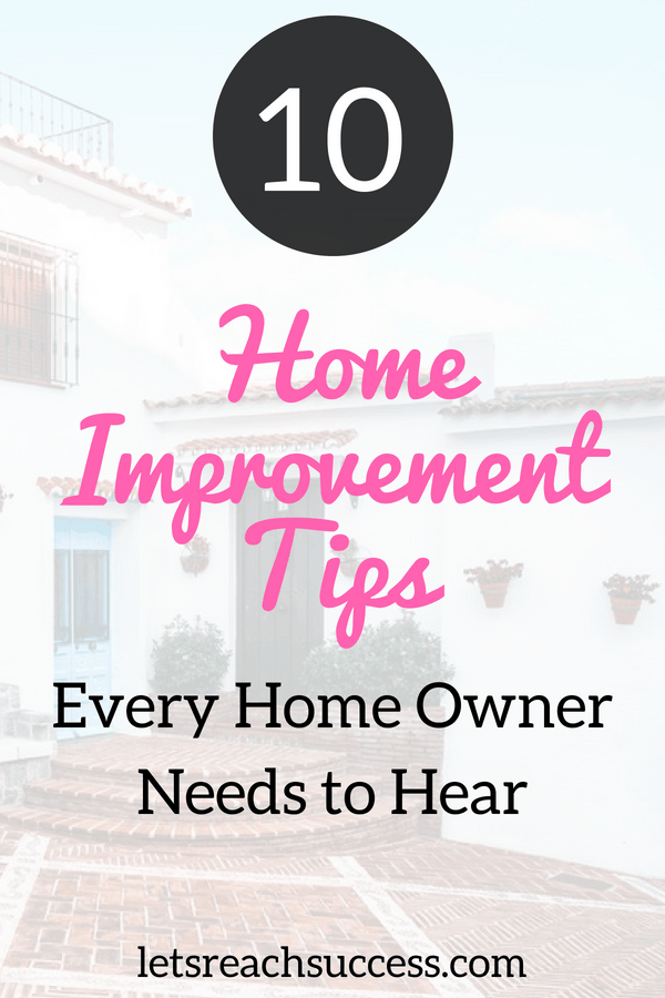 Home improvement projects can be daunting and tiresome, but also exciting and rewarding. As a homeowner, you are afforded the responsibility and luxury of improving your home. Follow these home improvement tips and tricks and you'll become a master at home improvement in no-time. #homeimprovement #homeimprovementtips