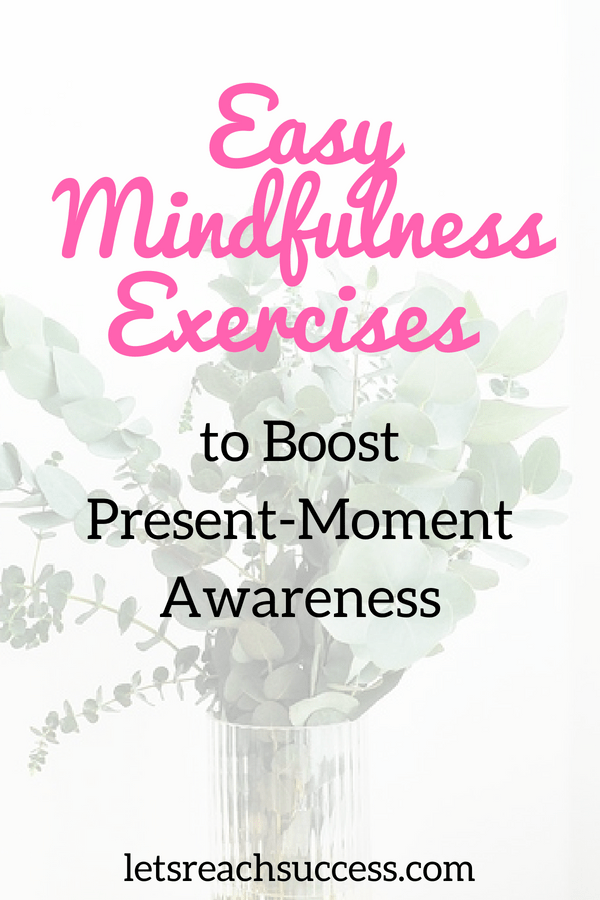 There are ways to incorporate being mindful into your daily routine that will help you be more present and enjoy life in the moment instead of always thinking of your next step. Here are 5 ways to practice mindfulness and be more present in your life.