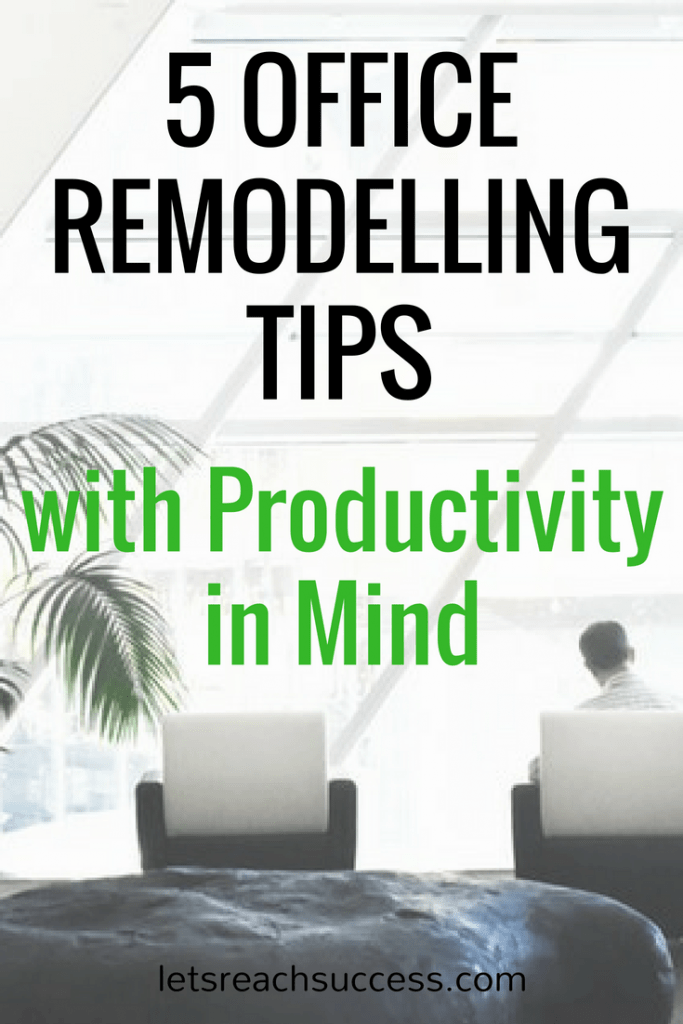When it comes to working in an office environment, there are many factors that contribute to motivation and productivity. Proper lighting, furniture arrangements and the general atmosphere in the workplace are some of the elements that can determine one's ability to be an effective part of the team. Check out these 5 office remodelling tips: