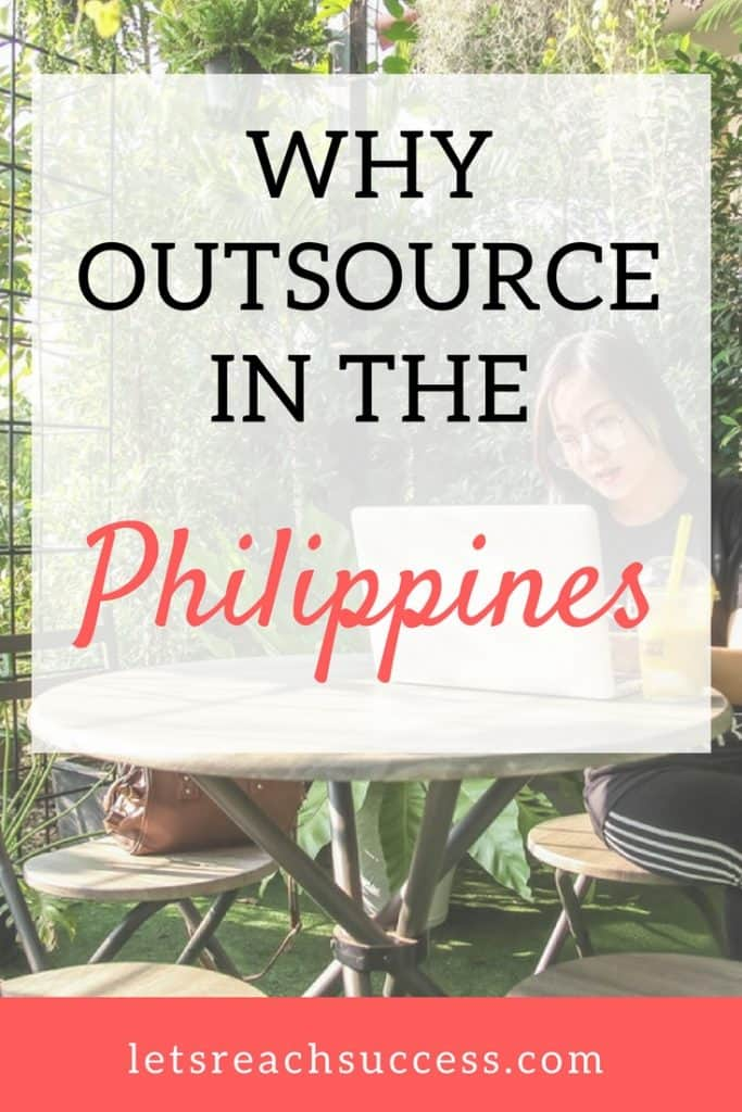 There are many reasons why entrepreneurs choose the Philippines as a top outsourcing destination. Here are just a few of the factors why many investors prefer bringing their business to the country and 6 reasons why you might want to outsource in the Philippines too. #outsourcing #remotework #philippines