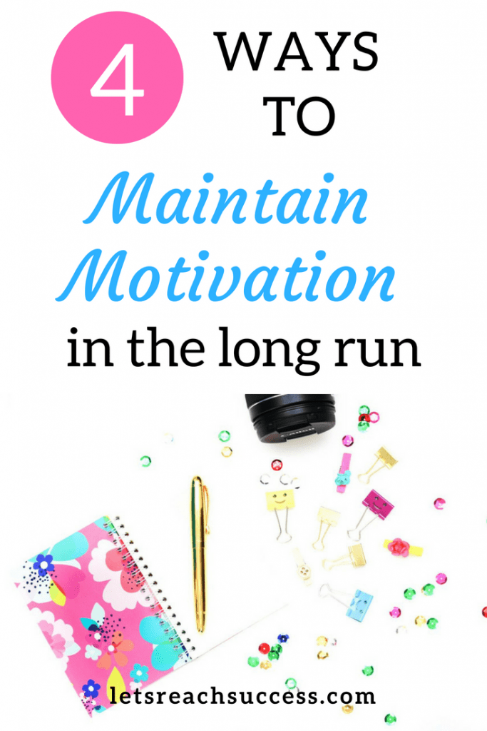 One of the biggest reasons why a lot of people don't achieve what they want in life is because they run out of motivation. That's why maintaining motivation is crucial. Here are four things you can do to keep the resilience for a long time and see all your projects or life events through to the end. #motivation #goals #success