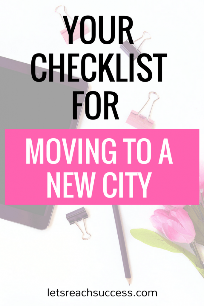 Moving to a new city means a new location, a new home and even new friends. To help you make a smooth move and connect more with your new city, here is a checklist you should definitely refer to.