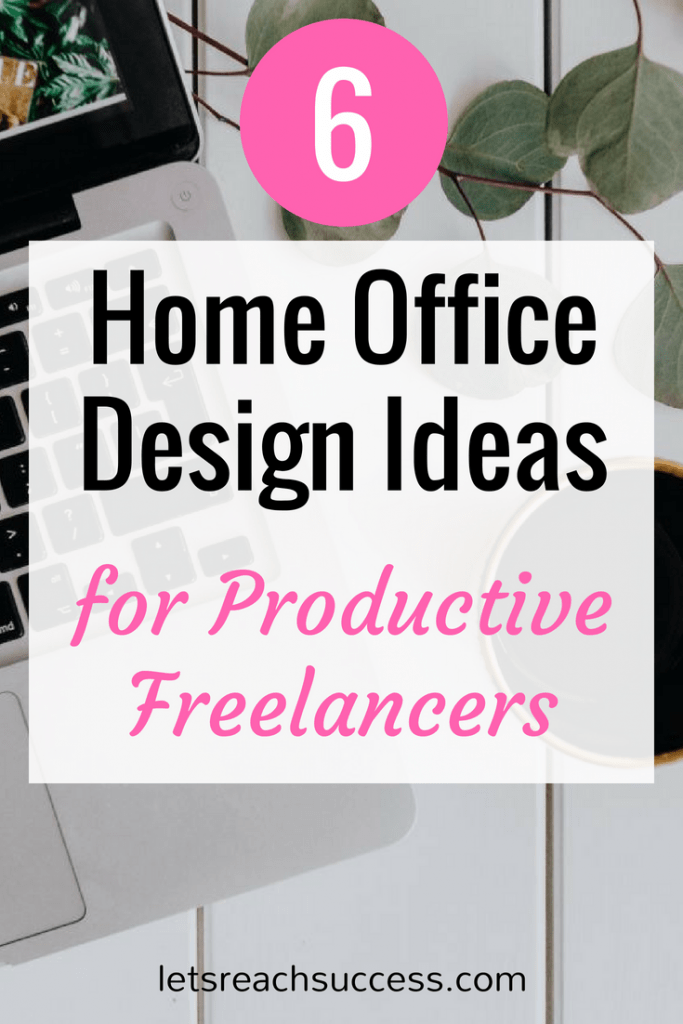 One of the challenges of being a freelancer is staying productive when working from home. These home office design ideas will help you can focus: #officedesign #homeoffice #homeofficedesign #homeofficedesignideas