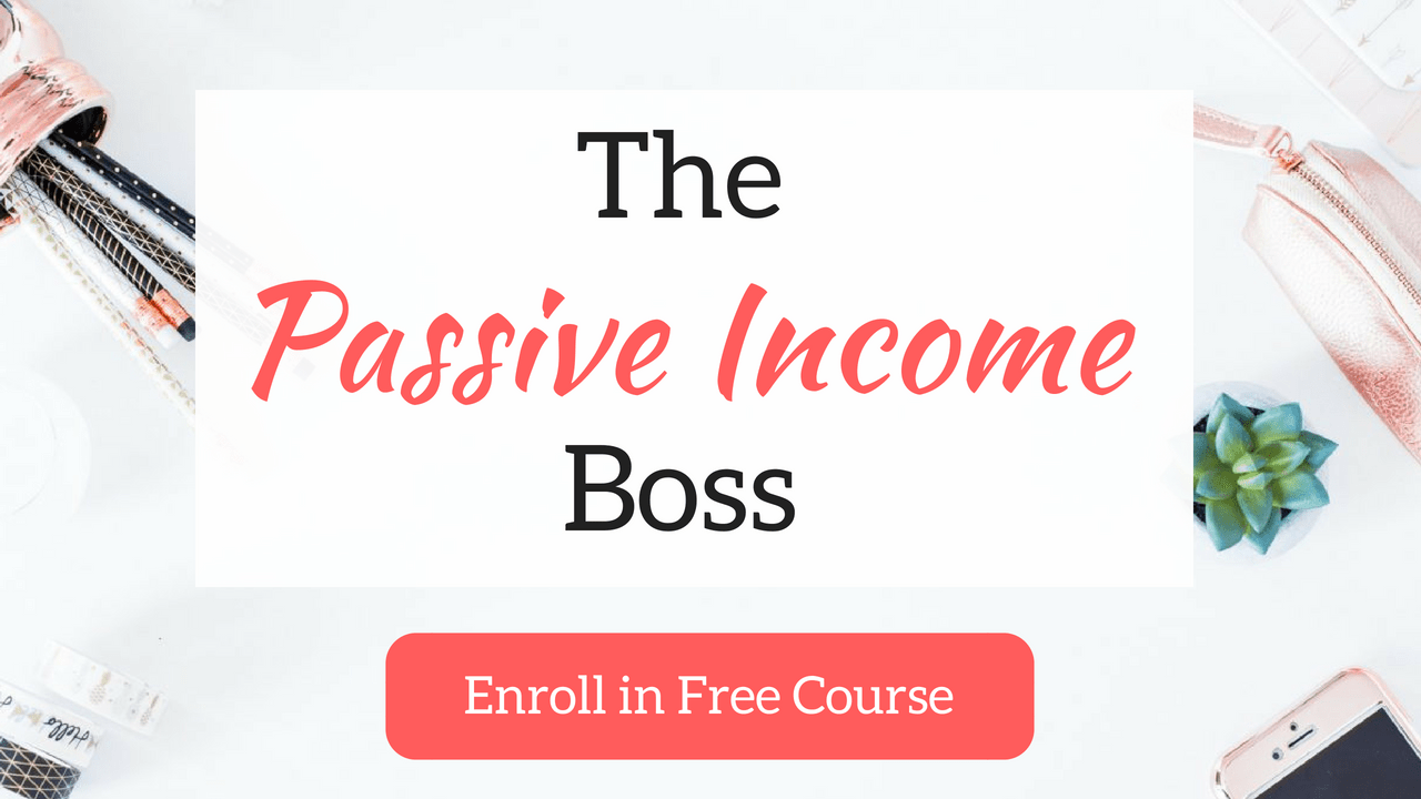 passive income boss course