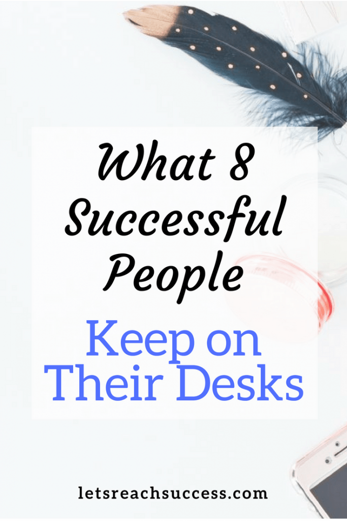 See what some of the richest and most powerful people keep on their desks with these 8 illustrations of desks of successful people: