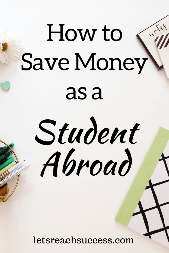 If you're in need of financial tips as a student, here are five tested and trusted tips to optimize your experience and save money abroad. #budgeting #savemoney #moneytips
