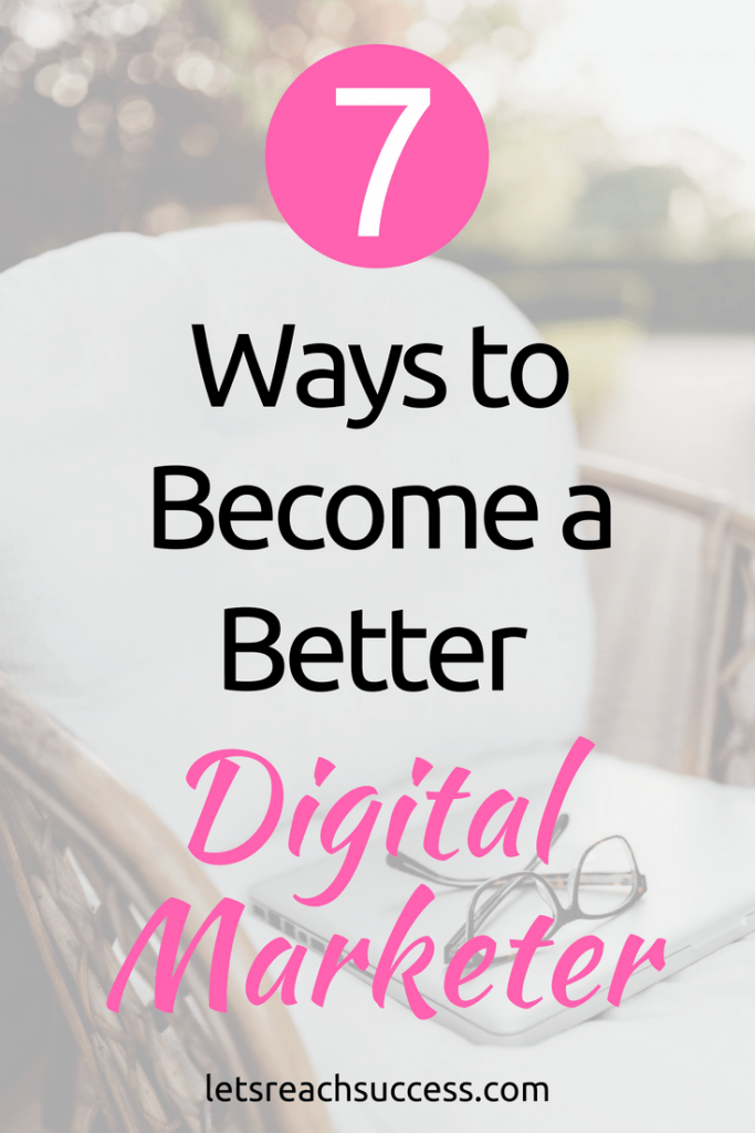 If you'd like to get hired by a digital marketing agency and reach millions of people, start by implementing these tips to become a better digital marketer: #marketingtips #digitalmarketing