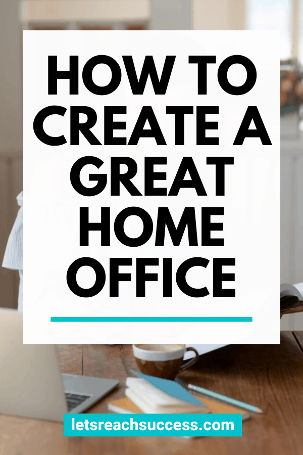 Here's how you can turn your wasted space into a great home office: #workfromhome #homeofficeideas #homeofficedecor #homeofficedesign #workingfromhometips #workingfromhome