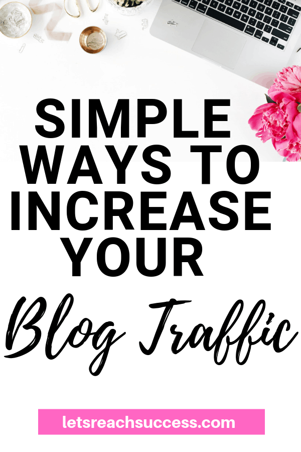 If you need to increase your page views, then give the following tips a try for simple ways to increase your blog traffic. #blogtraffic #blogtraffictips #bloggingforbeginners #bloggingtips