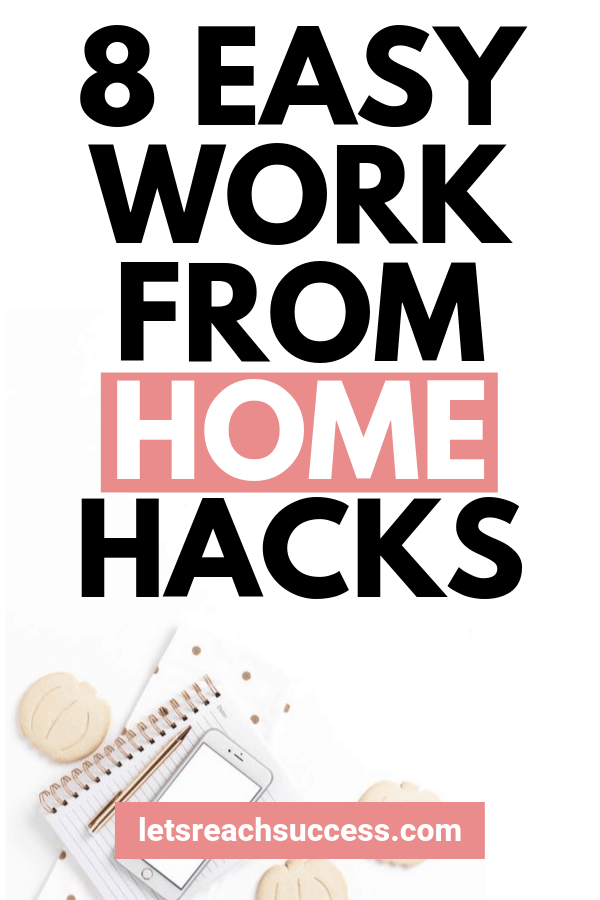 Want to work from home like a pro and stay on top of your productivity? Check out this free guide for the top hacks and tricks for those working from home and making money online: #workfromhometips #productivitytips #workingfromhome #stayproductiveathome #productivityhacks #wahmtips #wahm