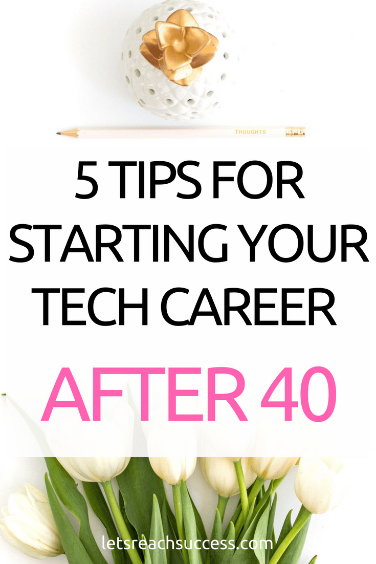 Considering switching to a tech job after you hit your 40s? Then here are the 5 most effective tips to make sure that you emerge a champion who knows his game. #tech #techcareer #careertips